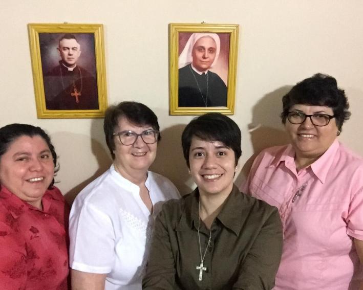 Irmãs que compõem a comunidade de Paraguai