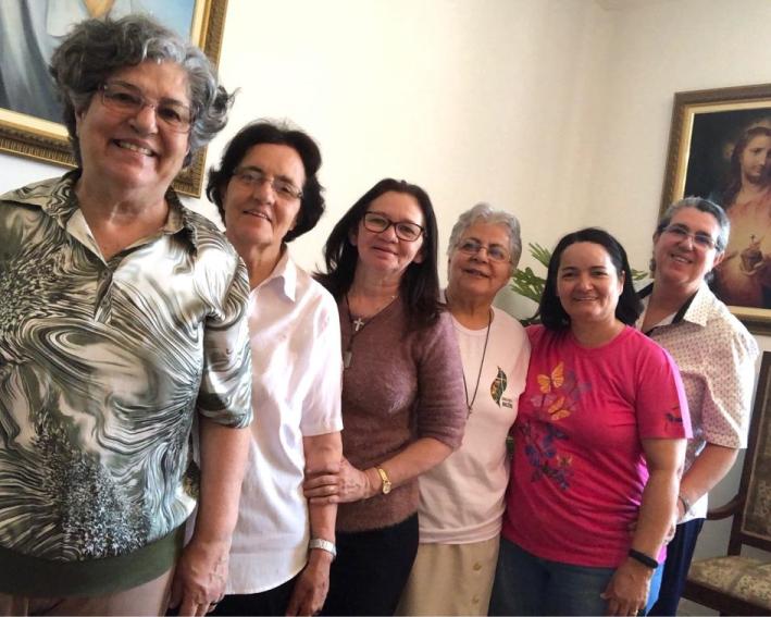Irmãs que fazem parte da coordenação do Projeto Intercongregacional no Peru