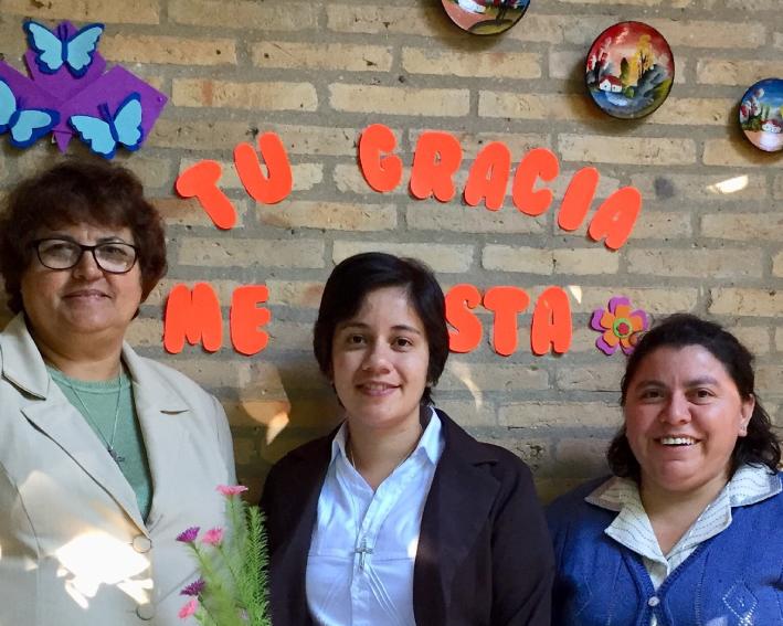 Entrada Na Congregação Paraguai - Maria Blanca